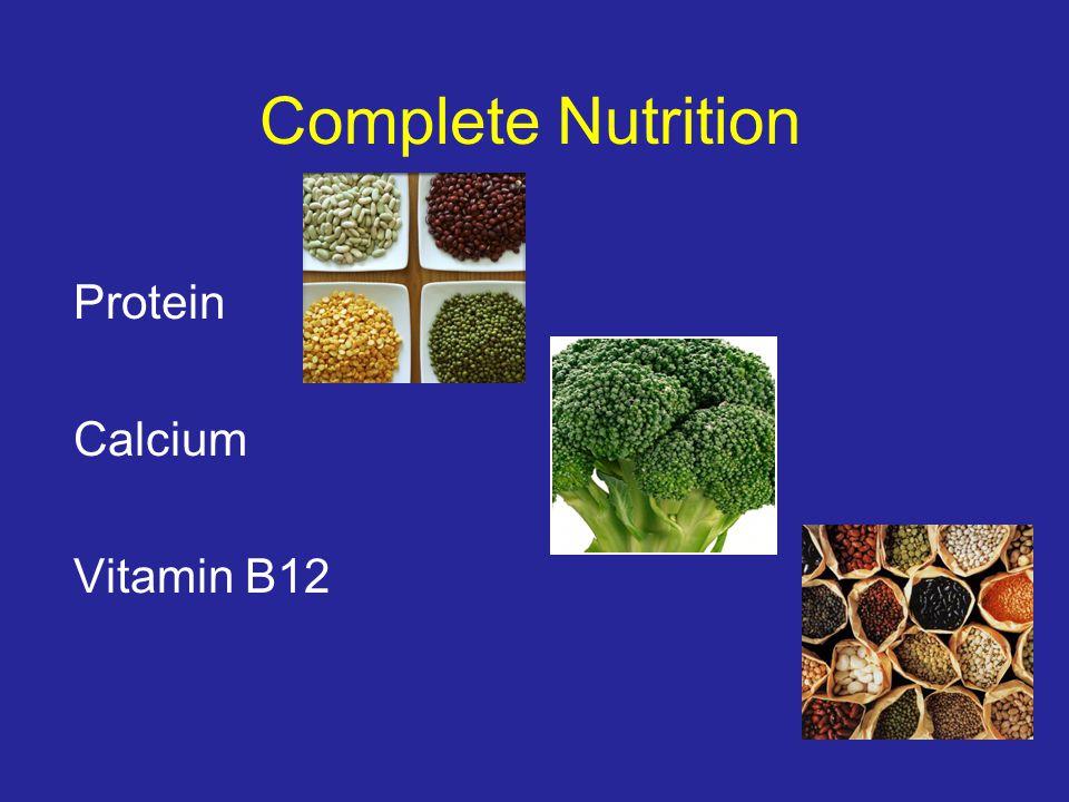 Complete Nutrition Protein Calcium Vitamin B12