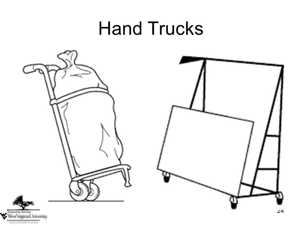24 Hand Trucks