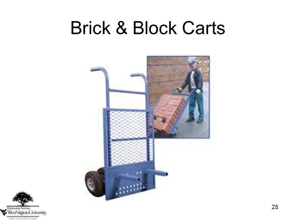 25 Brick & Block Carts