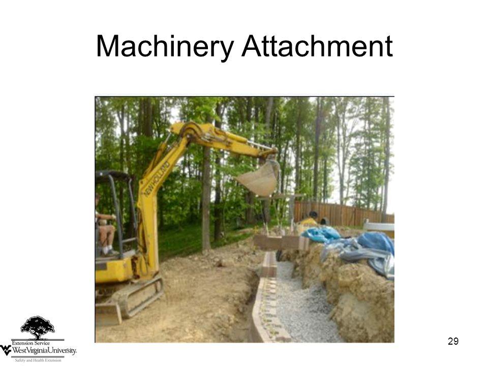 29 Machinery Attachment