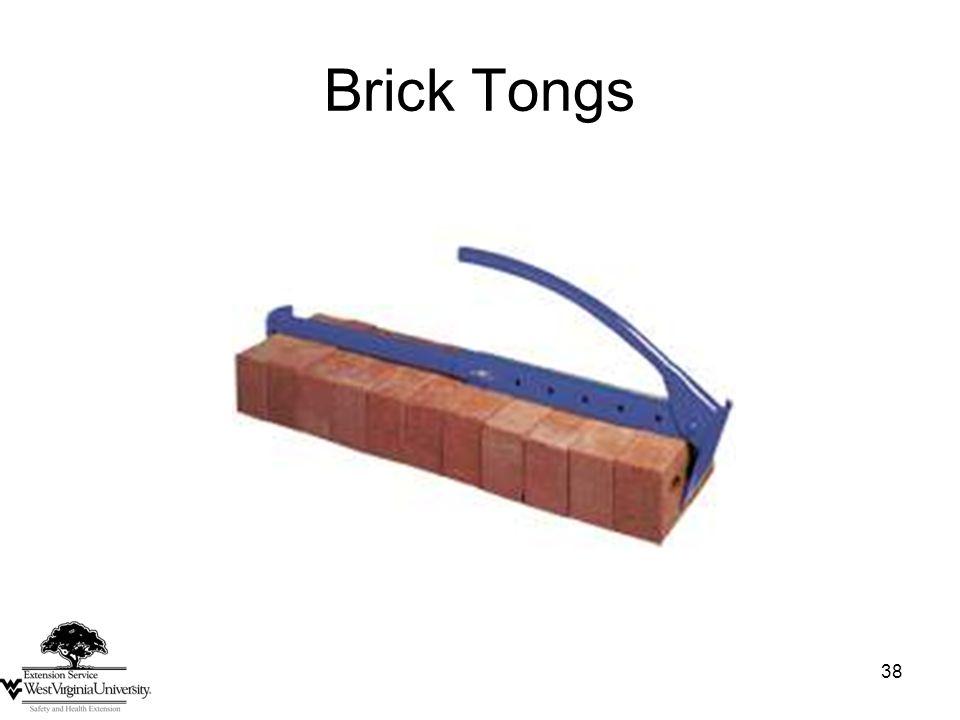 38 Brick Tongs