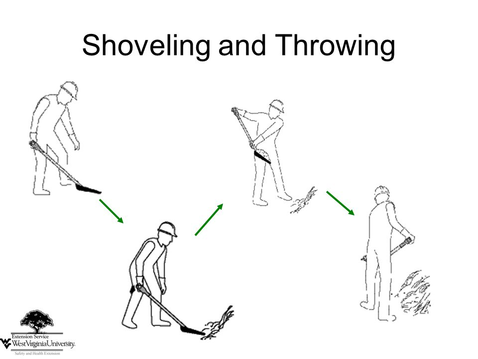 41 Shoveling and Throwing