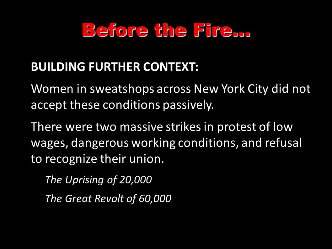 Source 2: Testimony of Ethel Monick (9th floor worker--age 16) December, 1911.