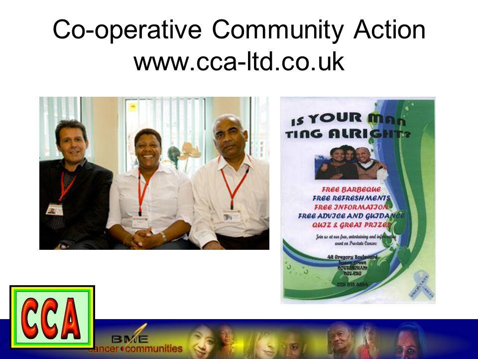 Co-operative Community Action www.cca-ltd.co.uk
