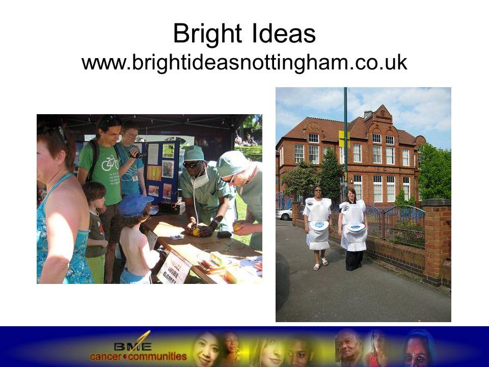 Bright Ideas www.brightideasnottingham.co.uk