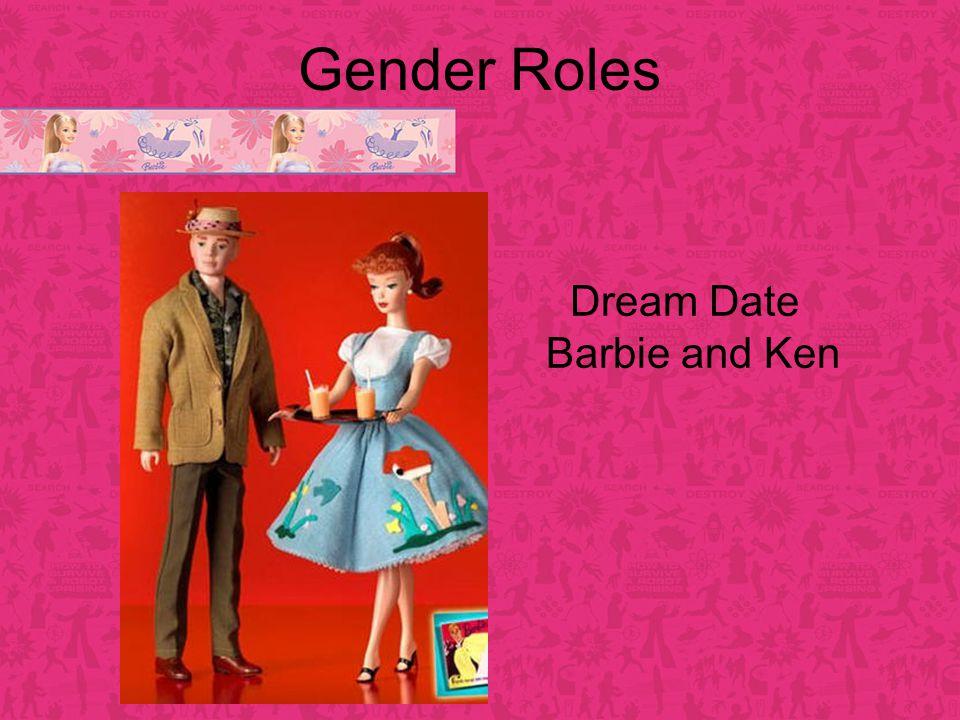 Gender Roles Dream Date Barbie and Ken