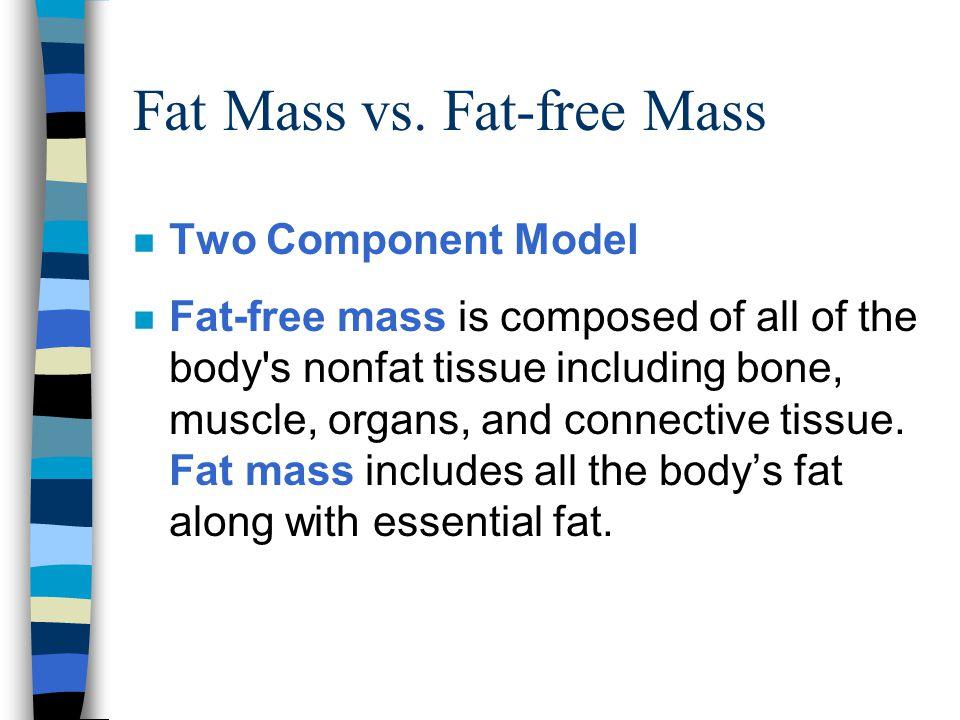 Fat Mass vs.