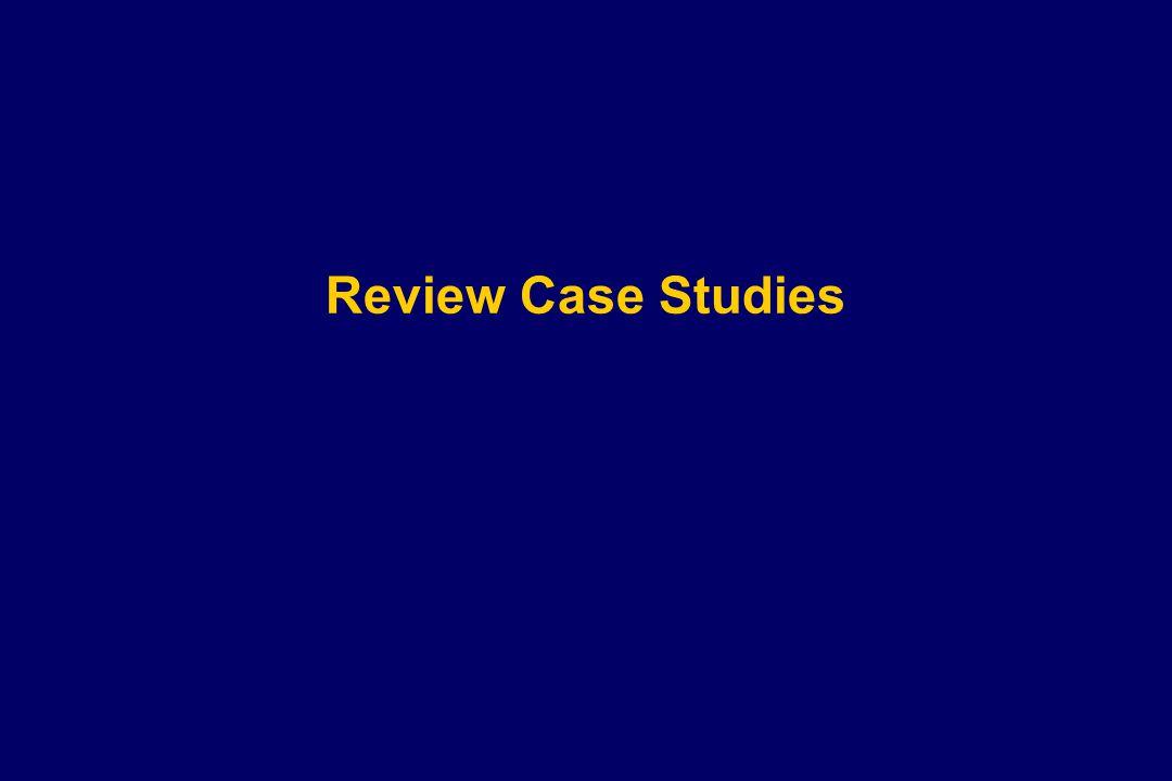 Review Case Studies