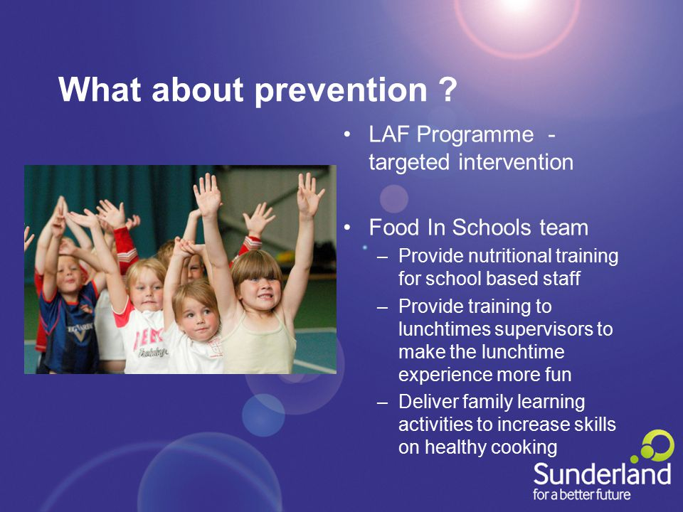 What about prevention .