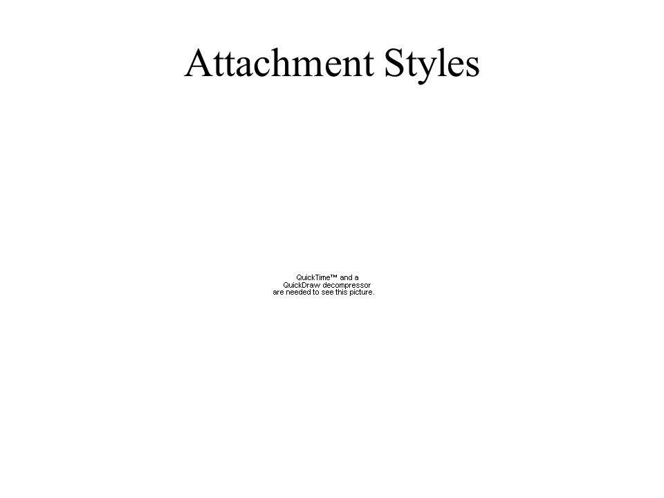 Attachment Styles