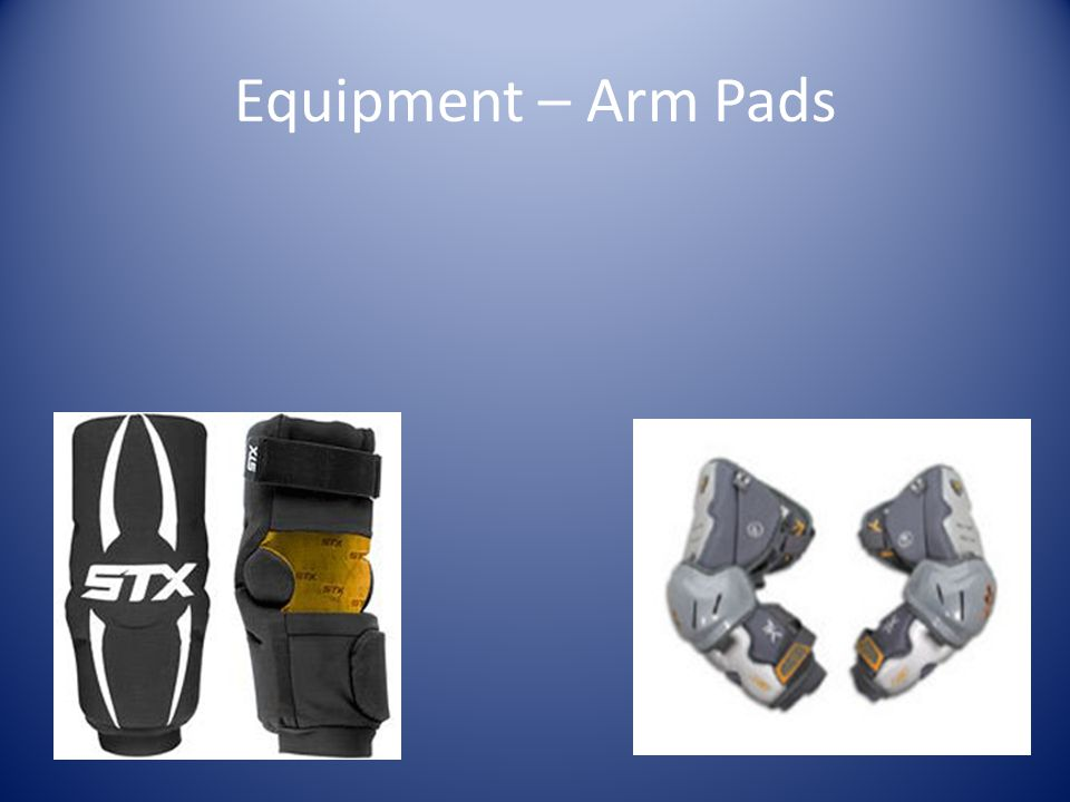 Equipment – Arm Pads