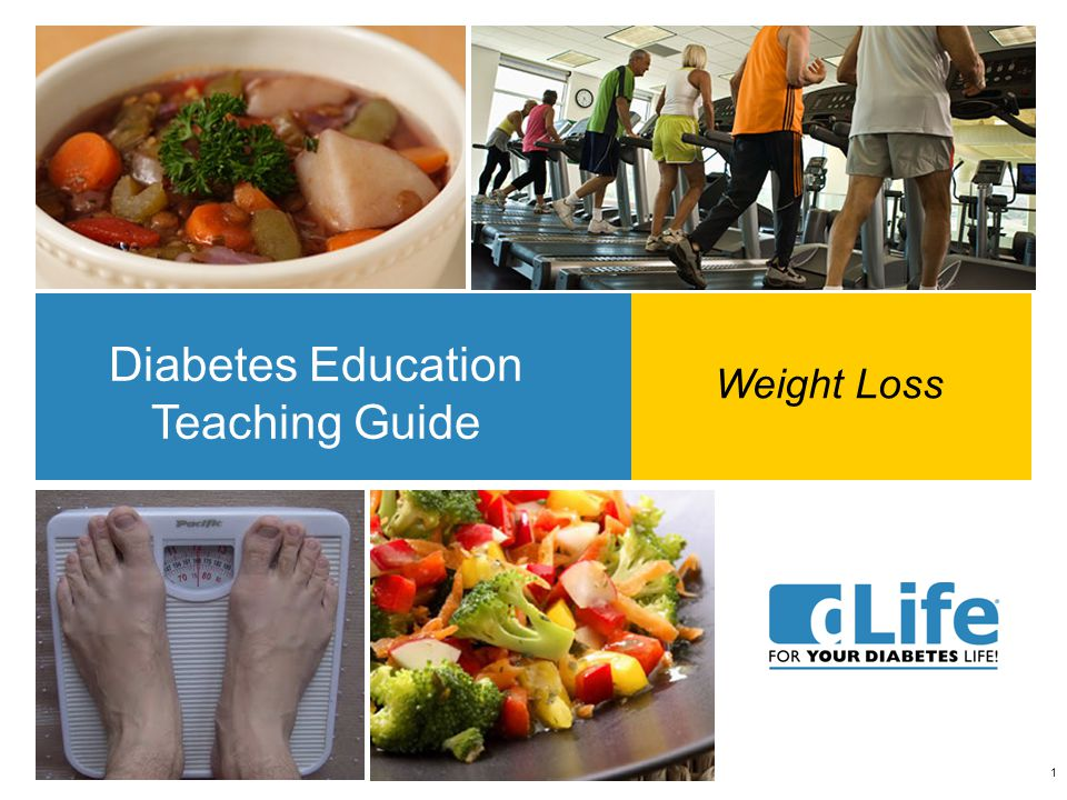 1 Diabetes Education Teaching Guide Weight Loss