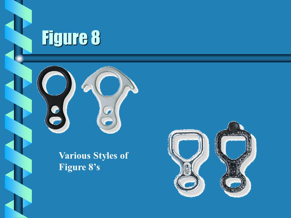 Figure 8 Various Styles of Figure 8's