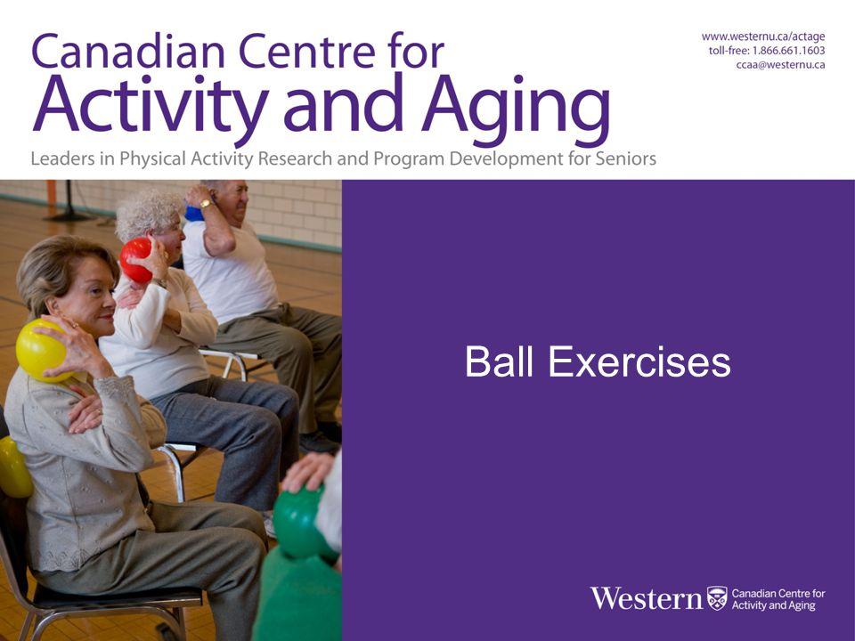 BALL EXERCISES Balls, Bands & Balance Ball Exercises