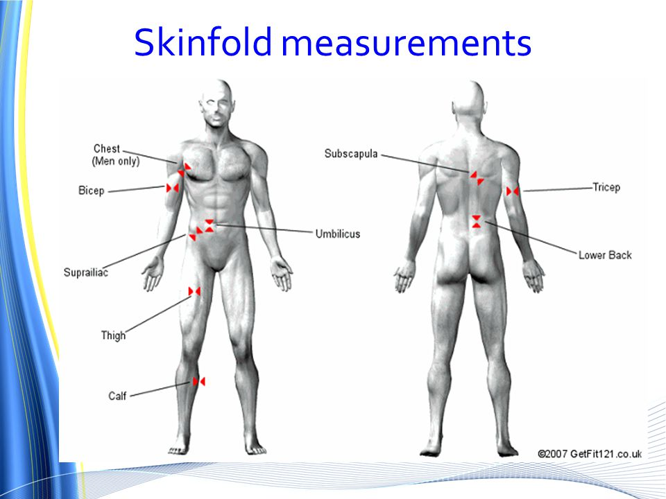 Skinfold measurements