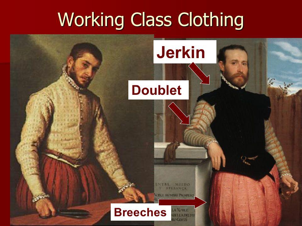 Working Class Clothing Jerkin Doublet Breeches