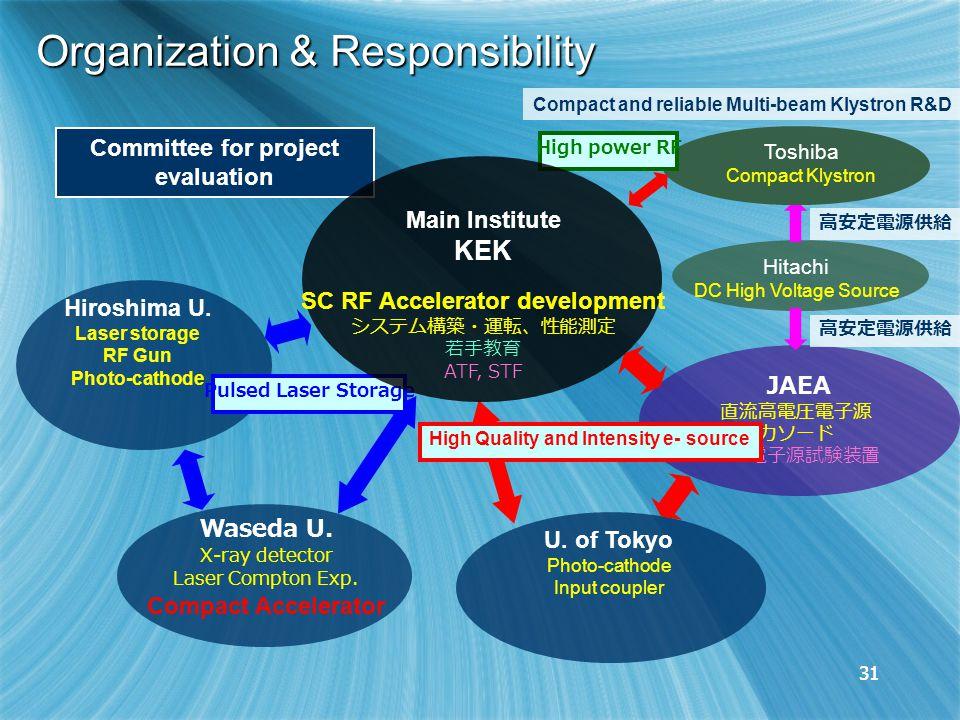 31 Organization & Responsibility U.