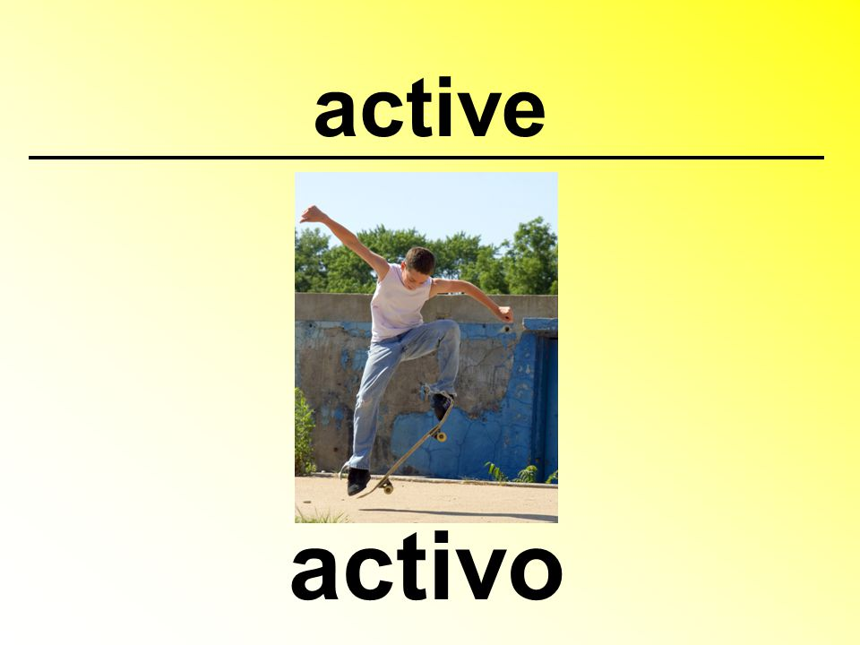 active activo