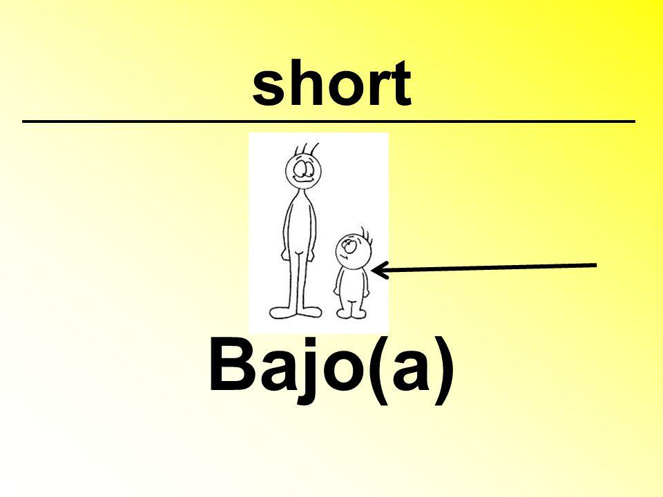 short Bajo(a)