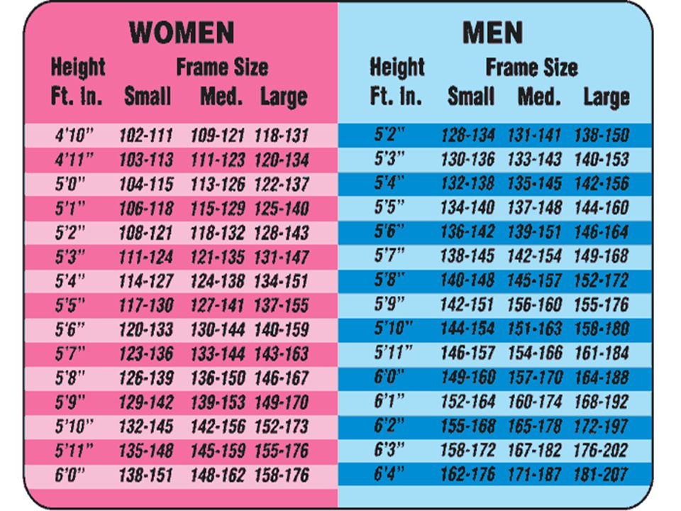 Height-Weight Charts Age Height Gender Does not assess body fatness Classifies as thin, overweight, or obese