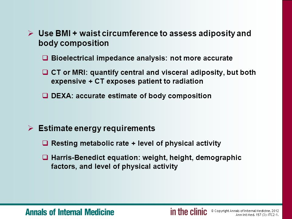 © Copyright Annals of Internal Medicine, 2012 Ann Int Med.