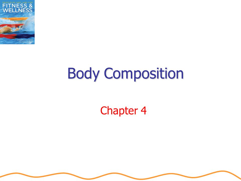 Techniques to Assess Body Composition Girth measurements Limitations SEE ± 4 percent Measurement locations Women: upper arm, hip, and wrist Men: waist and wrist