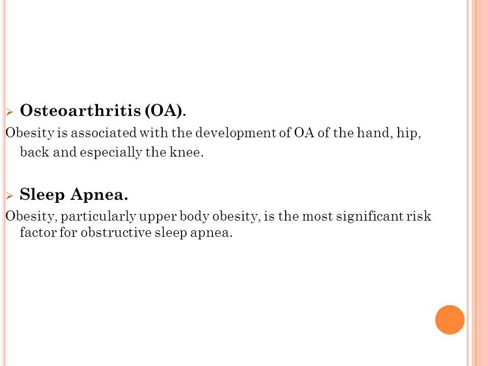  Osteoarthritis (OA).