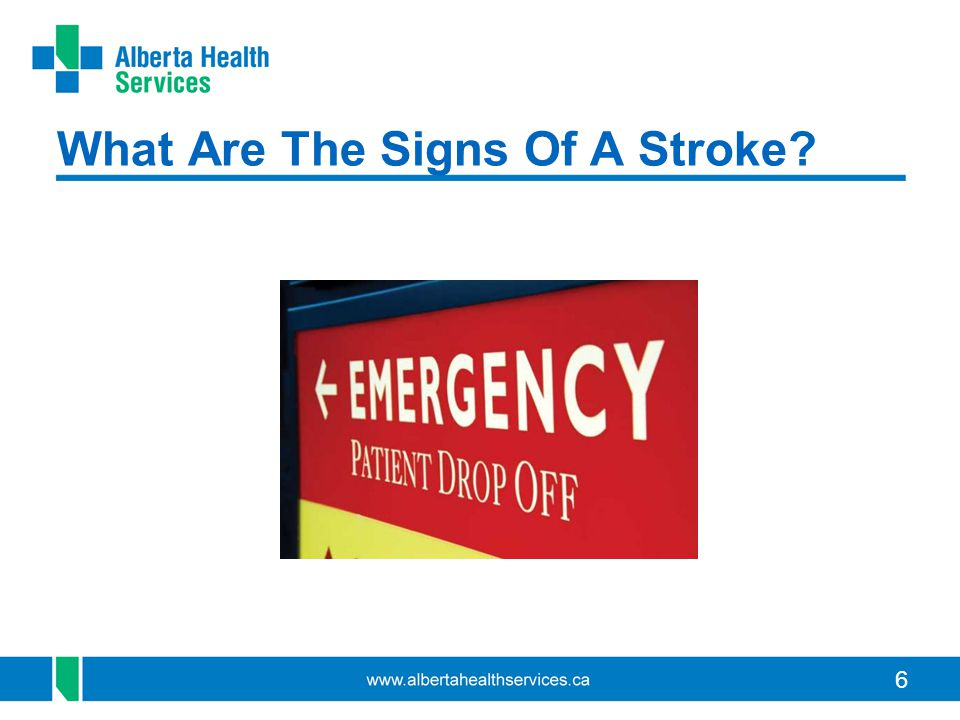 6 What Are The Signs Of A Stroke