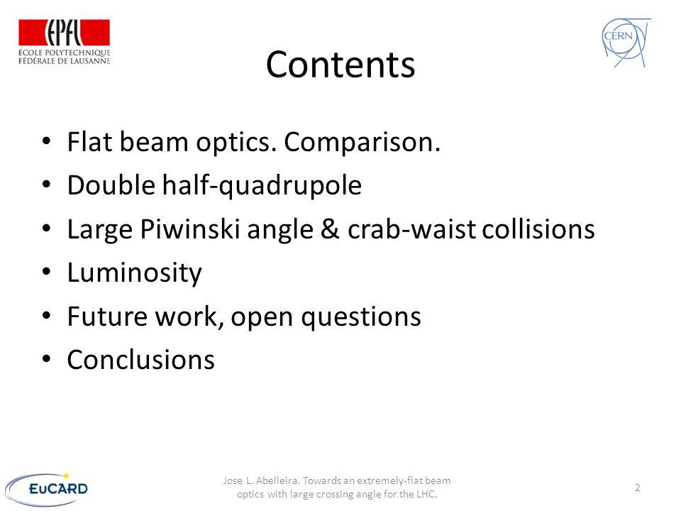 Crab-waist simulations Resonance suppression CW = 0 CW = 0.5 Dmitry Shatilov Mikhail Zobov 13 Jose L.