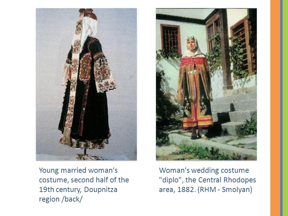 Woman's wedding costume
