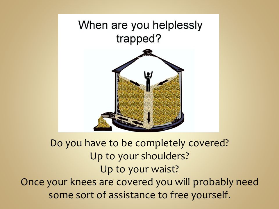 Do you have to be completely covered. Up to your shoulders.