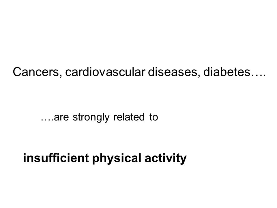 The medical prescription is…. Exercise every day