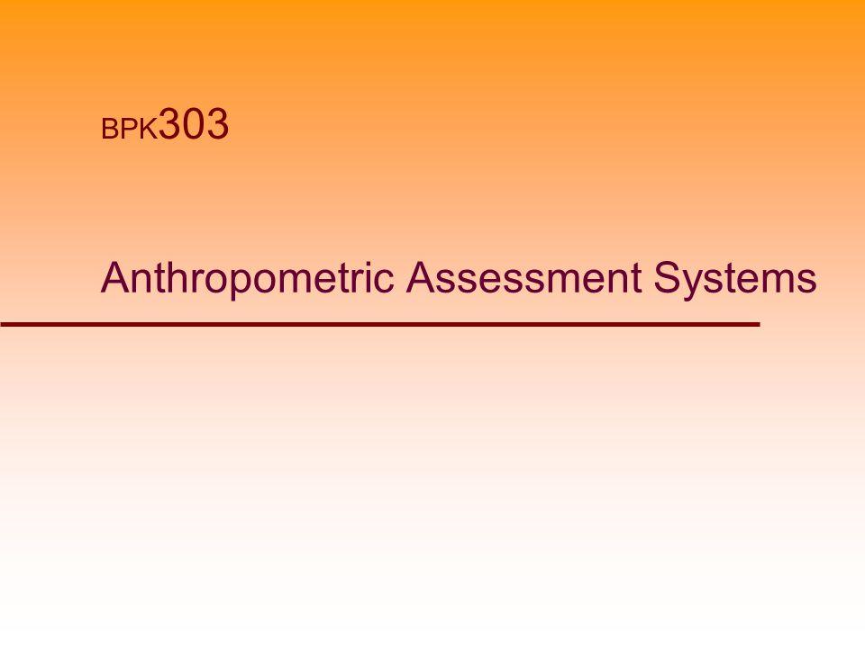 Anthropometric Assessment Systems BPK 303