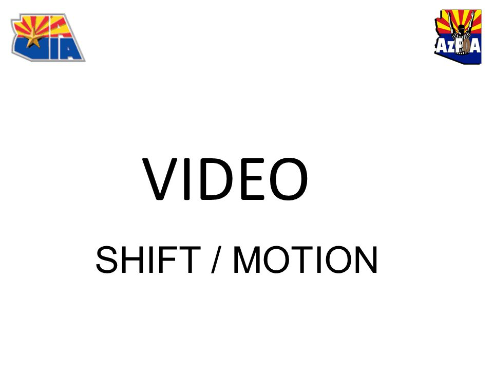 VIDEO SHIFT / MOTION