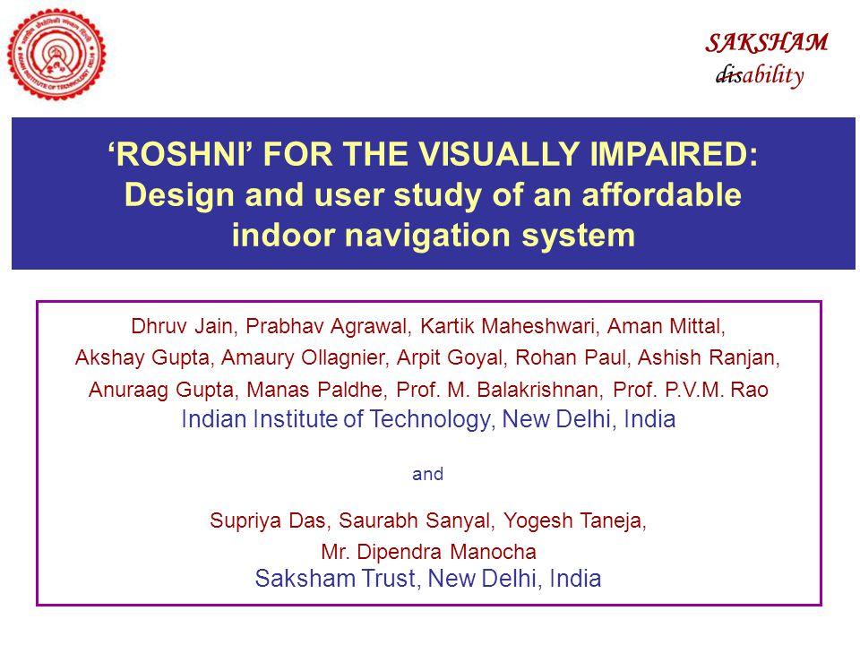 Dhruv Jain, Prabhav Agrawal, Kartik Maheshwari, Aman Mittal, Akshay Gupta, Amaury Ollagnier, Arpit Goyal, Rohan Paul, Ashish Ranjan, Anuraag Gupta, Manas Paldhe, Prof.