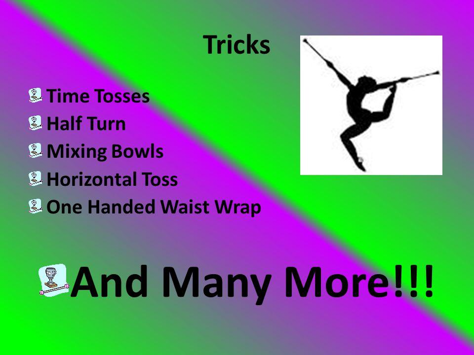 Tricks Elbow Roll Wrist Roll Pitter Patter Elbow Layout into Pitter Patter Elbow Layout into Pitter Patter Turn Out Double Elbow Roll Hand Over Hands