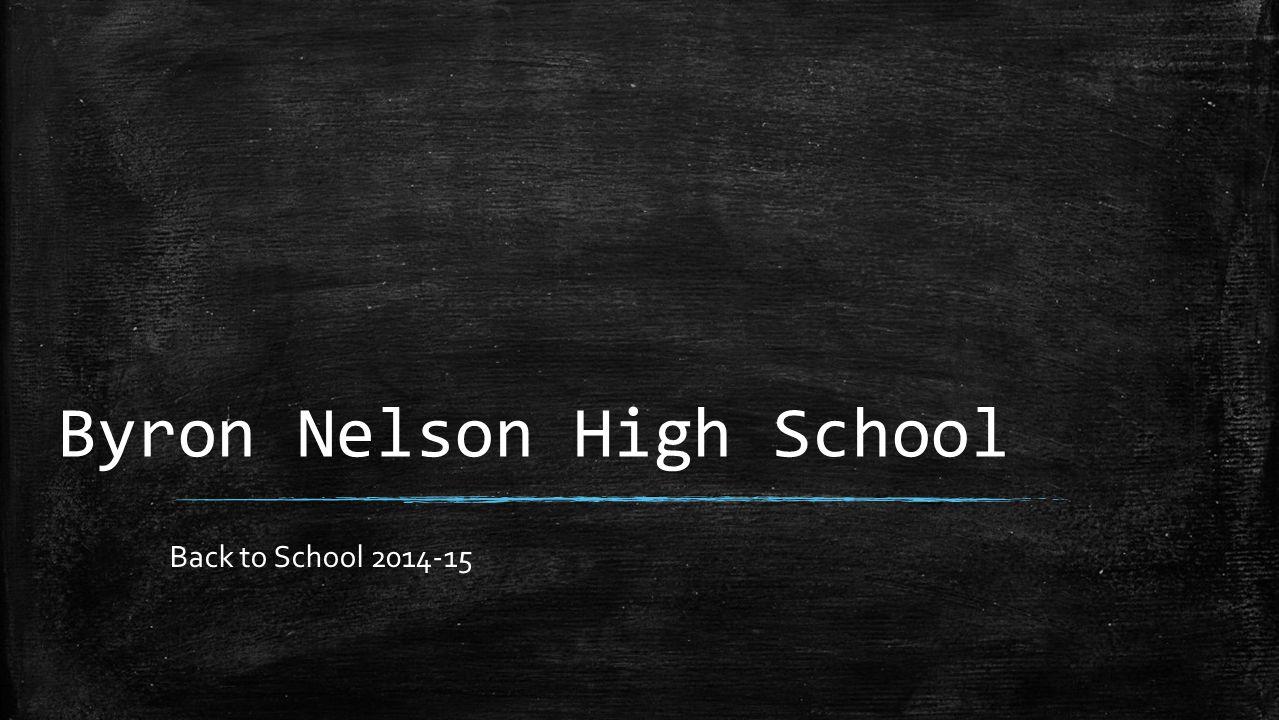 Byron Nelson High School Back to School 2014-15