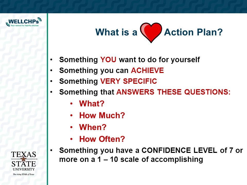 What is a Action Plan.