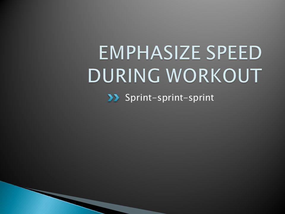Sprint-sprint-sprint