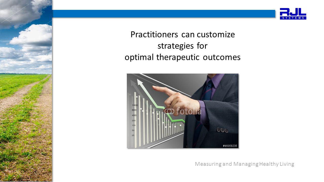Practitioners can customize strategies for optimal therapeutic outcomes