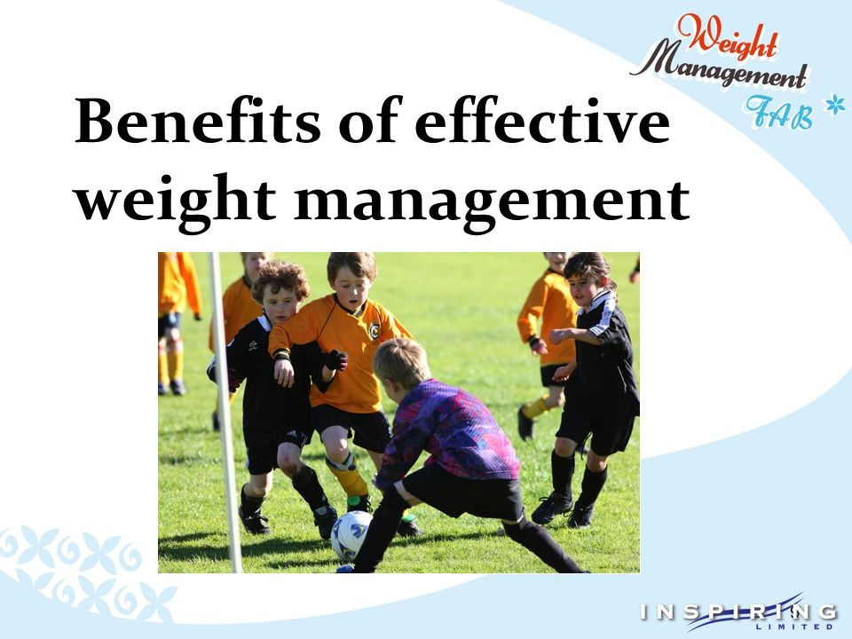 9 Benefits of effective weight management