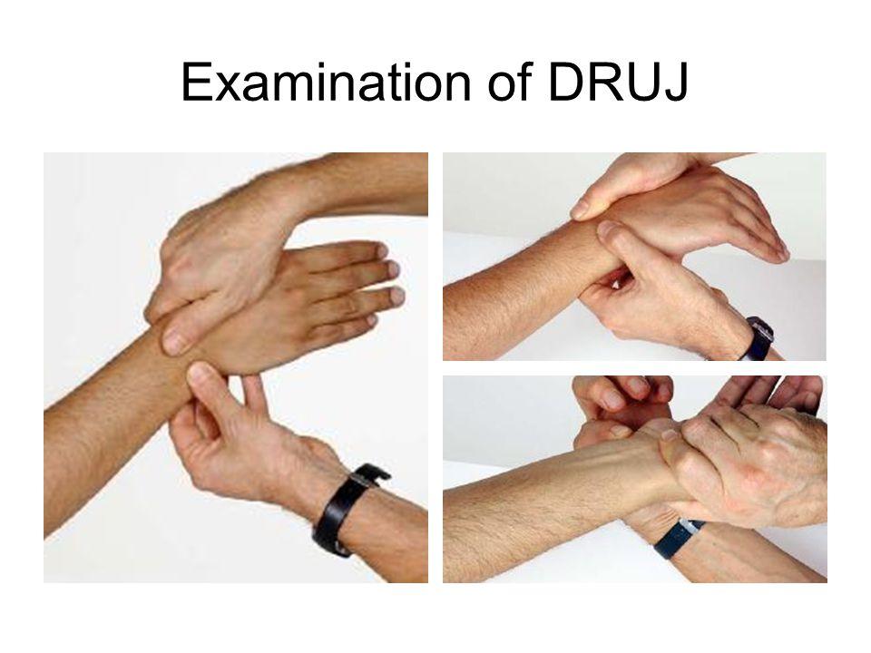 Examination of DRUJ