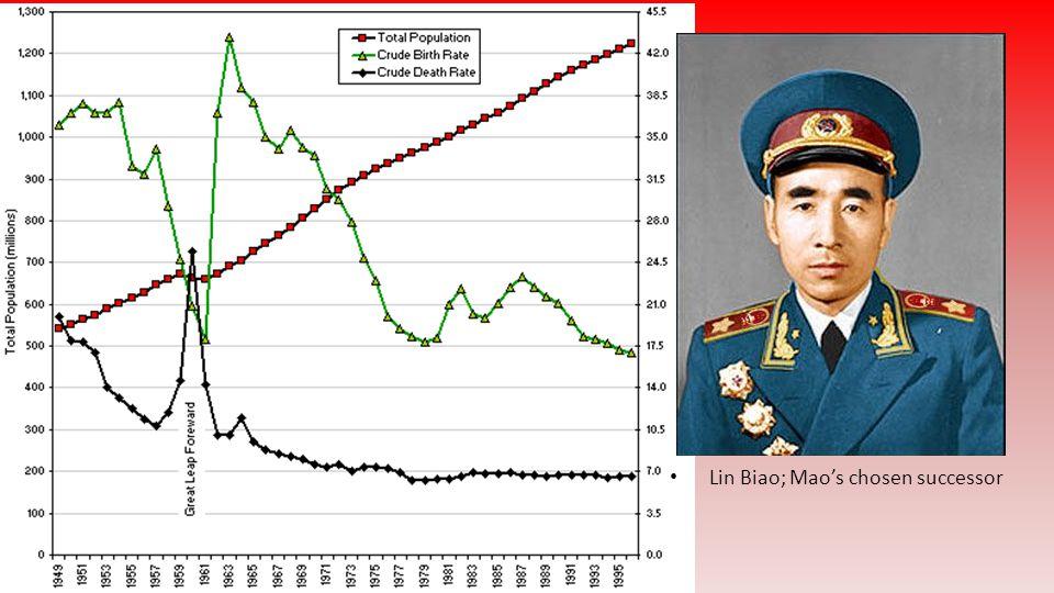Lin Biao; Mao's chosen successor