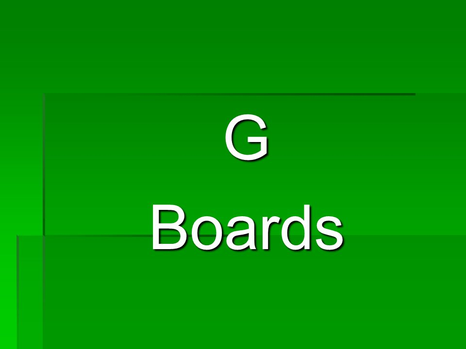 GBoards