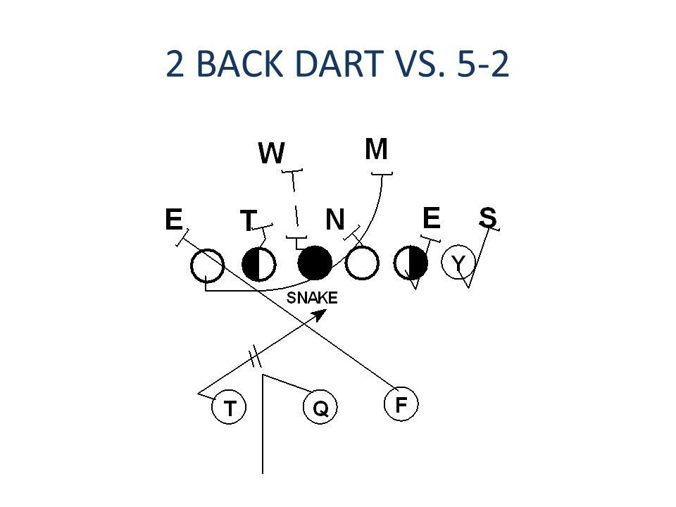 2 BACK DART VS. 5-2