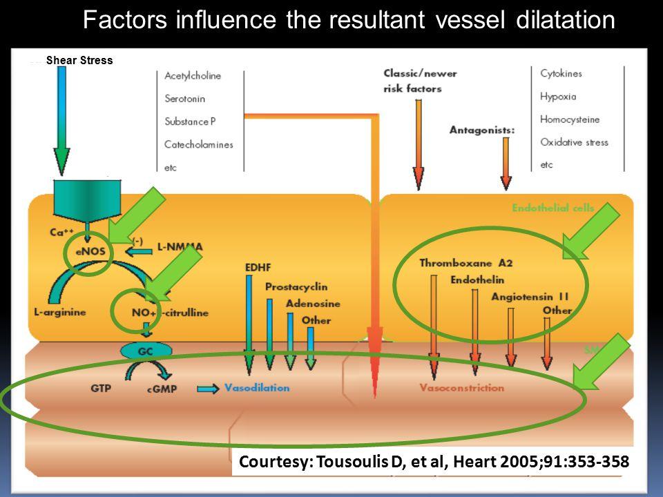 Tousoulis, et al., Heart 2005; 91: 353-358.