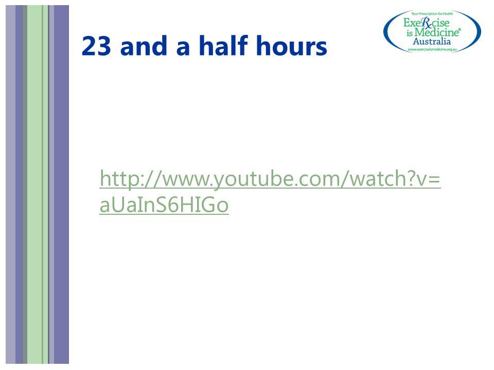 23 and a half hours http://www.youtube.com/watch?v= aUaInS6HIGo