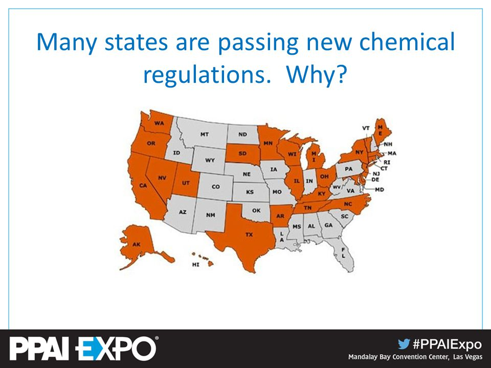 Many states are passing new chemical regulations. Why?