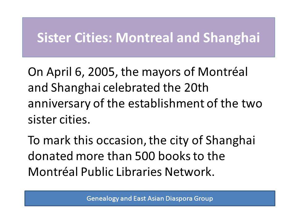 Chinese Schools in Montreal Genealogy and East Asian Diaspora Group 佳华学校 Jiahua School of Montreal 蒙城中华语文学校 Montreal Chinese School 枫叶学院 Montreal Fengye College