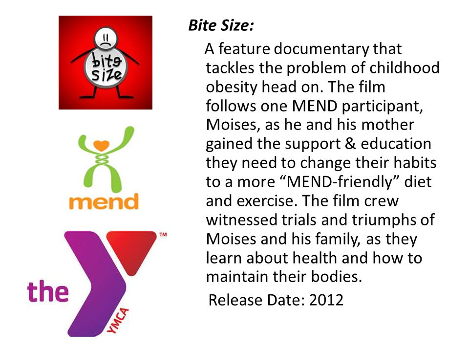 Bite Size: A feature documentary that tackles the problem of childhood obesity head on.